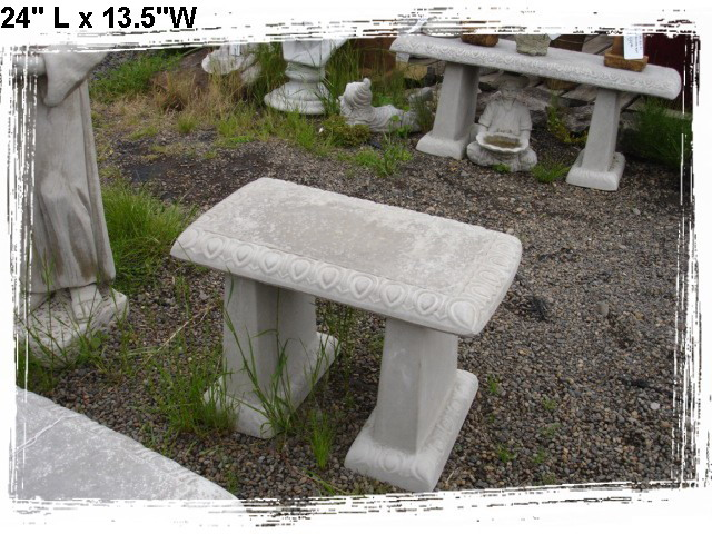 Concrete Benches and Tables Little Baja