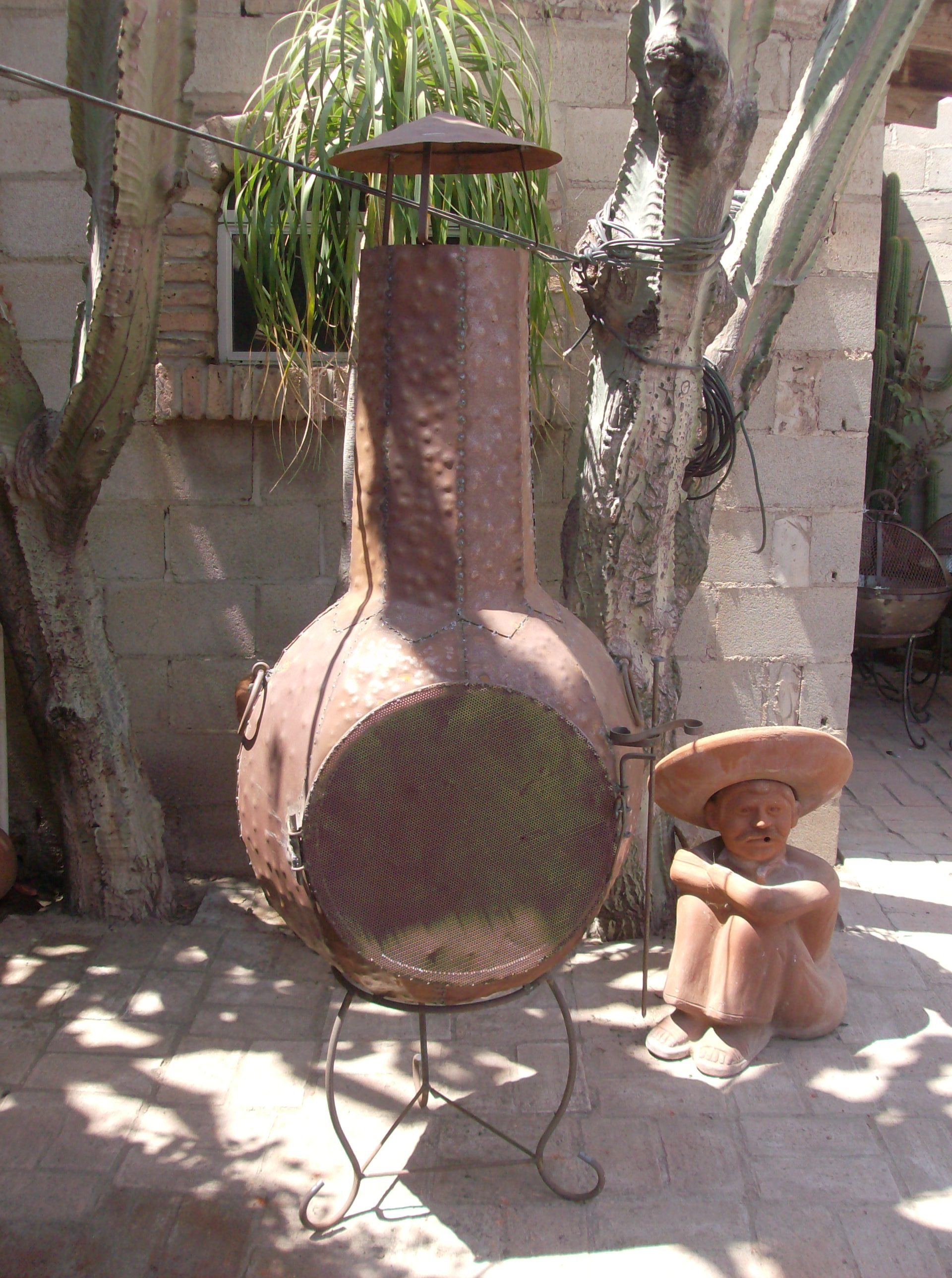 Baja Chimney Little Baja Finest Terra Cotta Fireplace